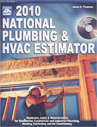 2010 national plumbing hvac estimator national plumbing and hvac estimator james a thomson 9781572182318 amazoncom books - Hvac Estimator