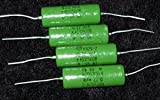K42Y-2 .22uf/500v Russian Paper In Oil Capacitors - NEW OLD STOCK - Lot of 4 (4X)