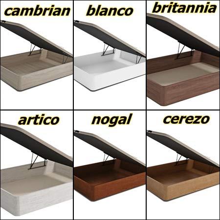 Mueble Canape con Base Tapizada + Colchon Visco 90x190 cms, Subida Domicilio ref-29: Amazon.es: Hogar