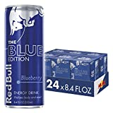 Red Bull Energy Drink Blueberry 24 Pack 8.4 Fl Oz, Blue Edition