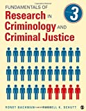 Fundamentals of Research in Criminology and Criminal Justice 3rd Edition