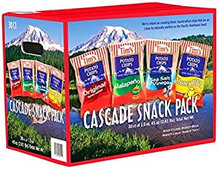 product image for Tim's Cascade Style Potato Chips, Variety Pack, 30 Count - SET OF 3