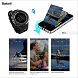 SUNROAD FR803 Outdoor Men Digital Bluetooth Smart Sports Watch -5TM Waterproof Outdoor Altimeter Compass EL Backlight Watch for Android 4.0 and Apple iOS 7.0