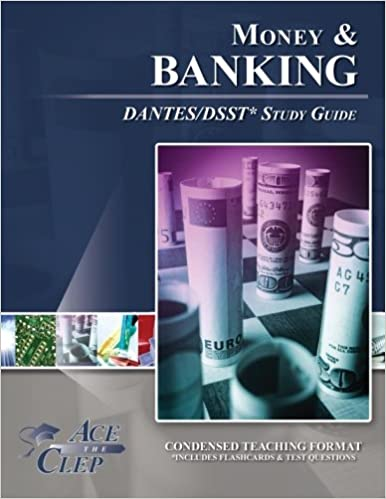 Book DSST Money and Banking DANTES Study Guide