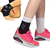 Orthopedic Ankle Support Brace by JERN (Unisex, Active Wear, Adjustable Neoprene Ankle Compression Belt)