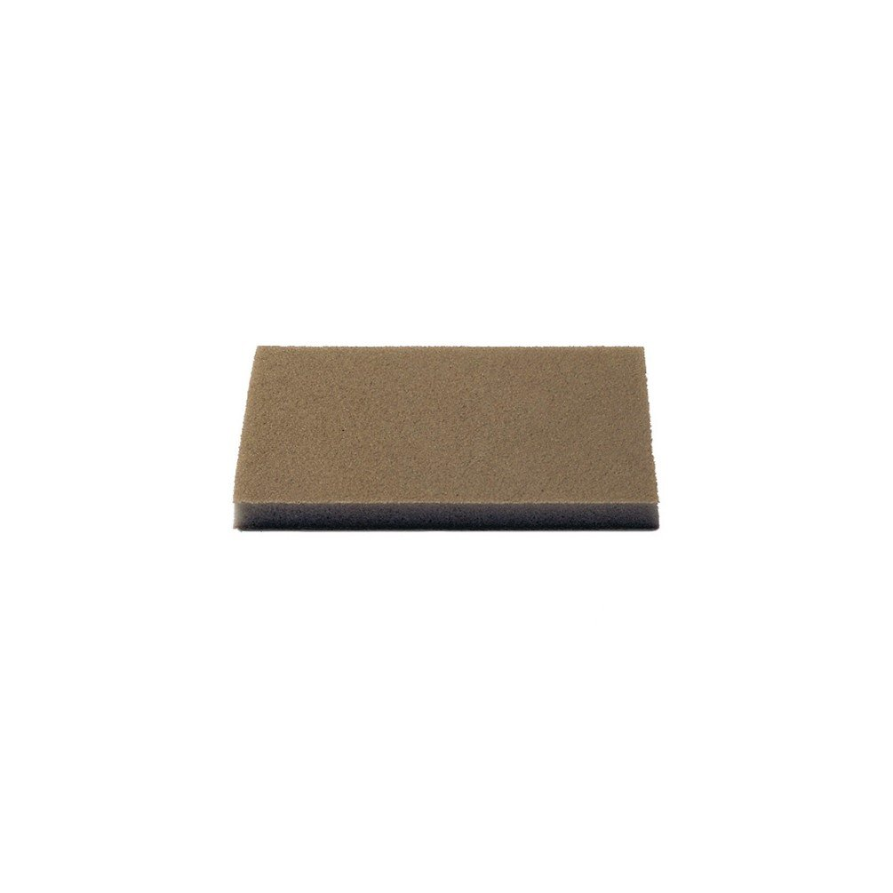 Wet or Dry For Primers//Top Coatsc//Clear Coats//Fiberglass /& Gelcoat Materials//Solid Surface Materials//Soft /& Resinous Wood//Wood Coatings Single Indasa Sponge Sanding Pad 115 x 140mm Micro-Fine 1x Pad