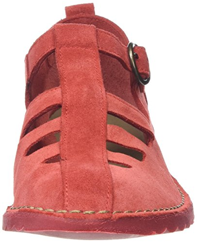 Red P801459004 T 001 Bar Zapatos Rojo London Mujer Street Fly q4T8xPw5n
