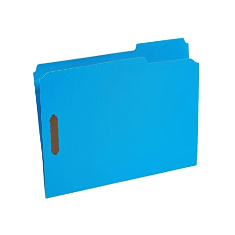 Amazon com : Staples Colored Reinforced Tab Fastener Folders, Letter