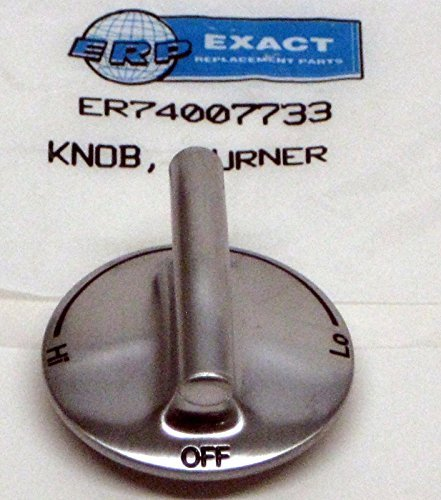 Jenn-air Burner Knob OEM Brushed Finish 74007733 ()