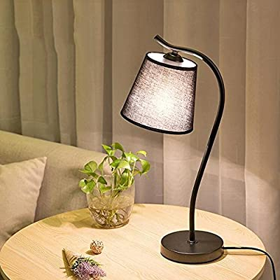 AINIOO Dimmable Desk Lamp, Desktop Metal Study Office Reading Table Lamp