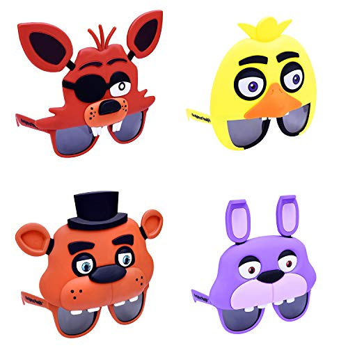 Five Nights at Freddy's Party Supplies Sunglasses and Bracelet Pack ()
