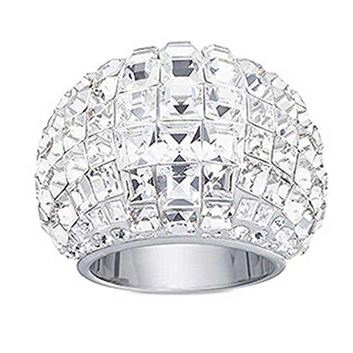 604d3a476583 Swarovski anillo trema grandes transparente cristales tamaño 52 ...