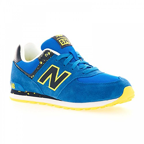 Amarillo Niñas BalanceKL574 Azulón New pantufla qaAFwaI