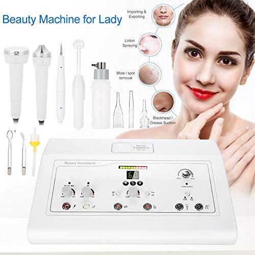 Facial Machine,5 IN 1 Face Skin Rejuvenation Anti Aging Wrinkle/Spot/Blackhead Removal Facial Spray Machine Deep Cleaning(US) by HURRISE (Image #1)