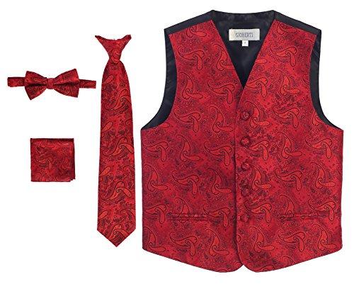 Gioberti Formal Paisley Tuxedo Bowtie product image