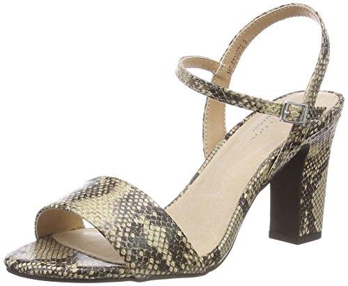 New Look WoMen Soy 2 Open Toe Sandals Black (Black Pattern 9)