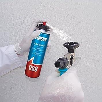 demsun C80 limpiador de espuma diseñado especialmente para la limpieza de la pistola de espuma 500 ml (3 x unidades): Amazon.es: Bricolaje y herramientas