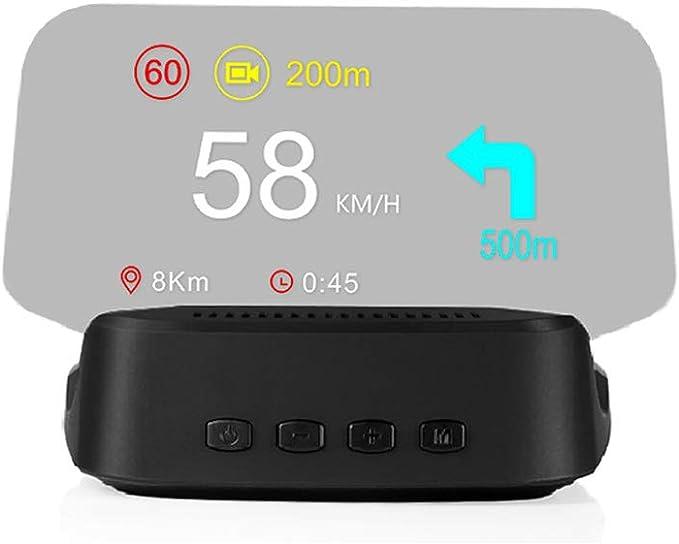 Sixco Newest Head Up Display OBD Car Electronics HUD Display Car Speedometers Overspeed Warning OBD2+GPS Dual Mode GPS Speedometer