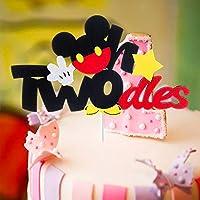 Outstanding Mallmall6 Mickey Two Birthday Cake Topper Twodles Mickey Birthday Funny Birthday Cards Online Alyptdamsfinfo