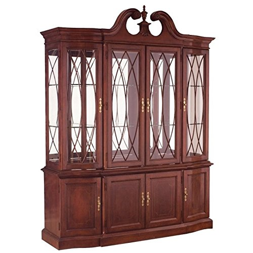 Beaumont Lane China Cabinet in Antique Cherry