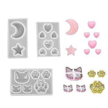 Daimay Moldes de fundición de joyas Molde colgante de silicona Moldes de resina Fabricación de joyas