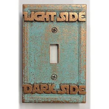 Amazon star wars lightdark side light switch cover custom star wars lightdark side light switch cover custom aged sciox Image collections