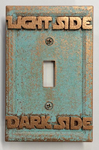 Price comparison product image Star Wars (Light/Dark Side) Light Switch Cover (Custom) (Aged Patina)