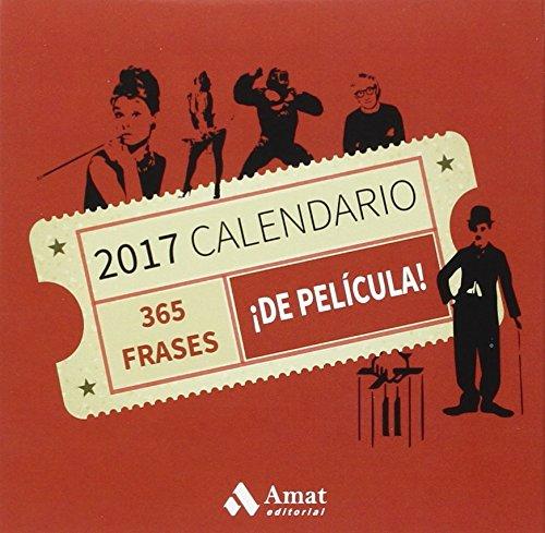 Amat Editorial Mt1514 Calendario 2017 Con Diseño 365 Frases De Película