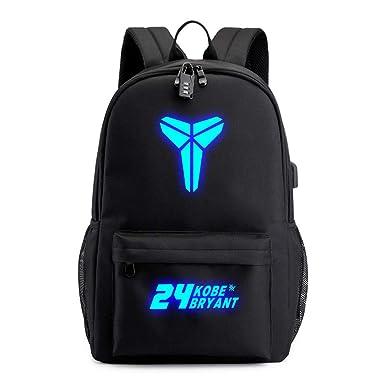 TFTREE24 Bolsa de baloncesto Kobe bolsa luminosa para ...