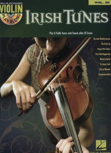 Irish Tunes: Violin Play-Along Volume 20