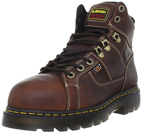 Dr. Martens Ironbridge Steel Toe 8-Tie Industrial Teak/Black US M 12 & Bandana