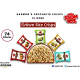 SSOM Brown Rice Crisps (5 Different Flavours) in 1 Box (5 Different Flavours in 1 Packet)