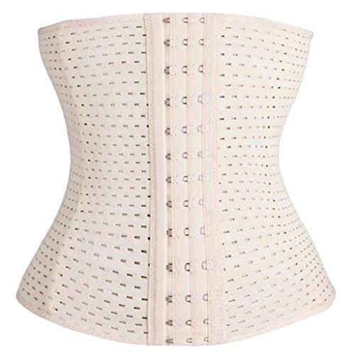 Mujer Faja Cinturón Cintura Cincher Body Shaper Corsé de Underbust de control de barriga cintura Complexion