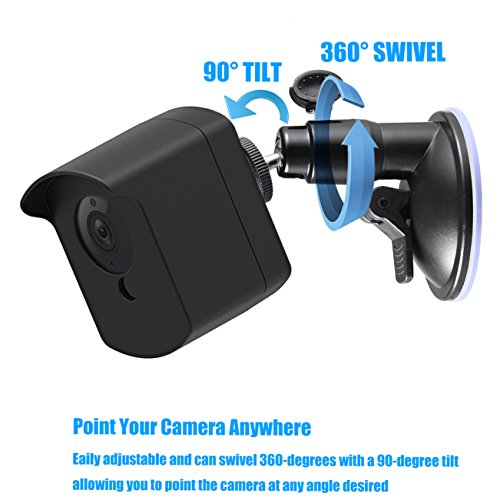 Mrount Suction Mount and Cover for Wyze Cam, Wyzecam Cover