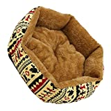 Refaxi 1x Yellow Pet Dog Cat Bed Simple Puppy Cushion Room Warm Kennel Dog Pad Blanket New