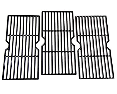 Hongso Cooking Grid Grates Replacement for Select Gas Grill Models by Kenmore, Charbroil, Thermos