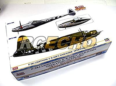 RCECHO® Hasegawa Aircraft Model 1/72 P-38J Lightning & B-26B/C Marauder 02091 H2091 with RCECHO® Full Version Apps Edition