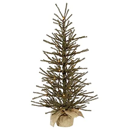 vickerman 24 vienna twig artificial christmas tree with 20 clear lights
