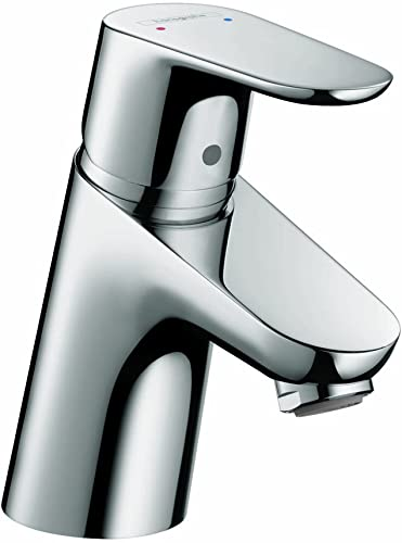hansgrohe Focus Modern Timeless Easy Clean 1-Handle 1 5-inch Tall Bathroom Sink Faucet in Chrome, 31539001