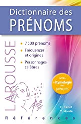 Dictionnaire des Prénoms