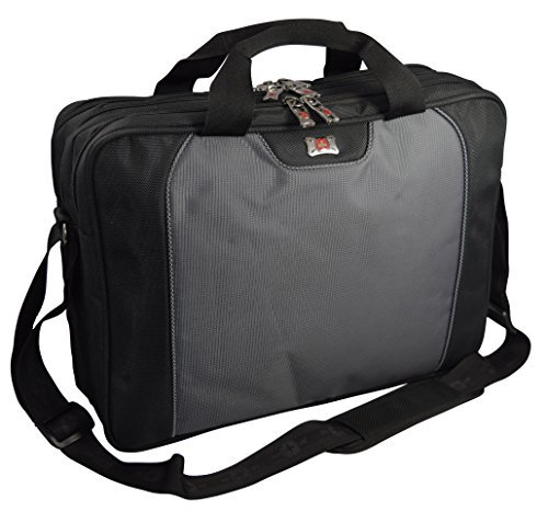wenger-swiss-gear-slim-case-16-computer-laptop-sleeve-business-briefcase-blk-grey