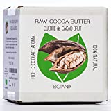 COCOA BUTTER Raw 100% Pure Natural Botanix Cocoa Butter - Rich Chocolate Aroma (250 g / 8.8 Oz)
