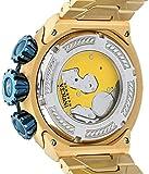 Reloj Invicta para hombre de acero inoxidable con cuarzo suizo 'Bolt', color: dorado (Modelo: 21347)