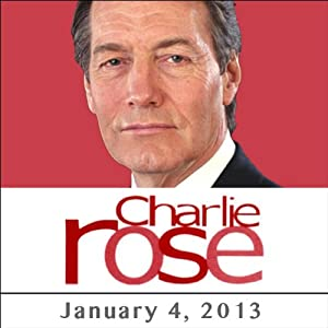 Charlie Rose: David Letterman, Robert Plant, Jimmy Page, and John Paul Jones, January 4, 2013 Radio/TV Program