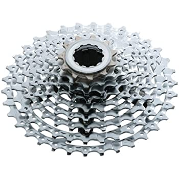 8a00dbedabd Amazon.com : Shimano Deore XT CS-M770 9-Speed Cassette - 11x32 ...