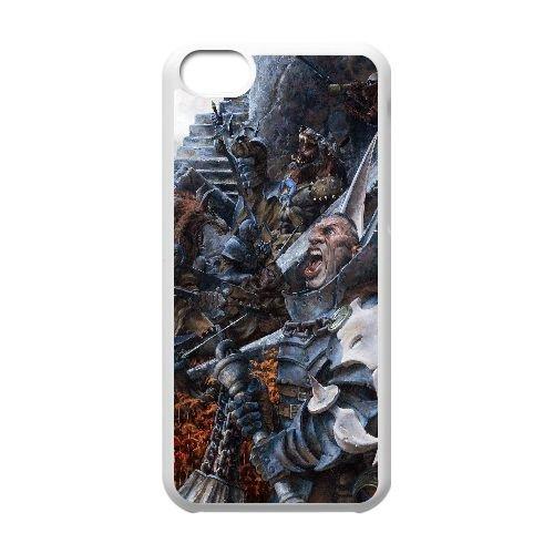 M8I63 confrontation cas de téléphone F7K1HW coque iPhone 5c cellulaire couvercle coque blanche SF5JHH4XL