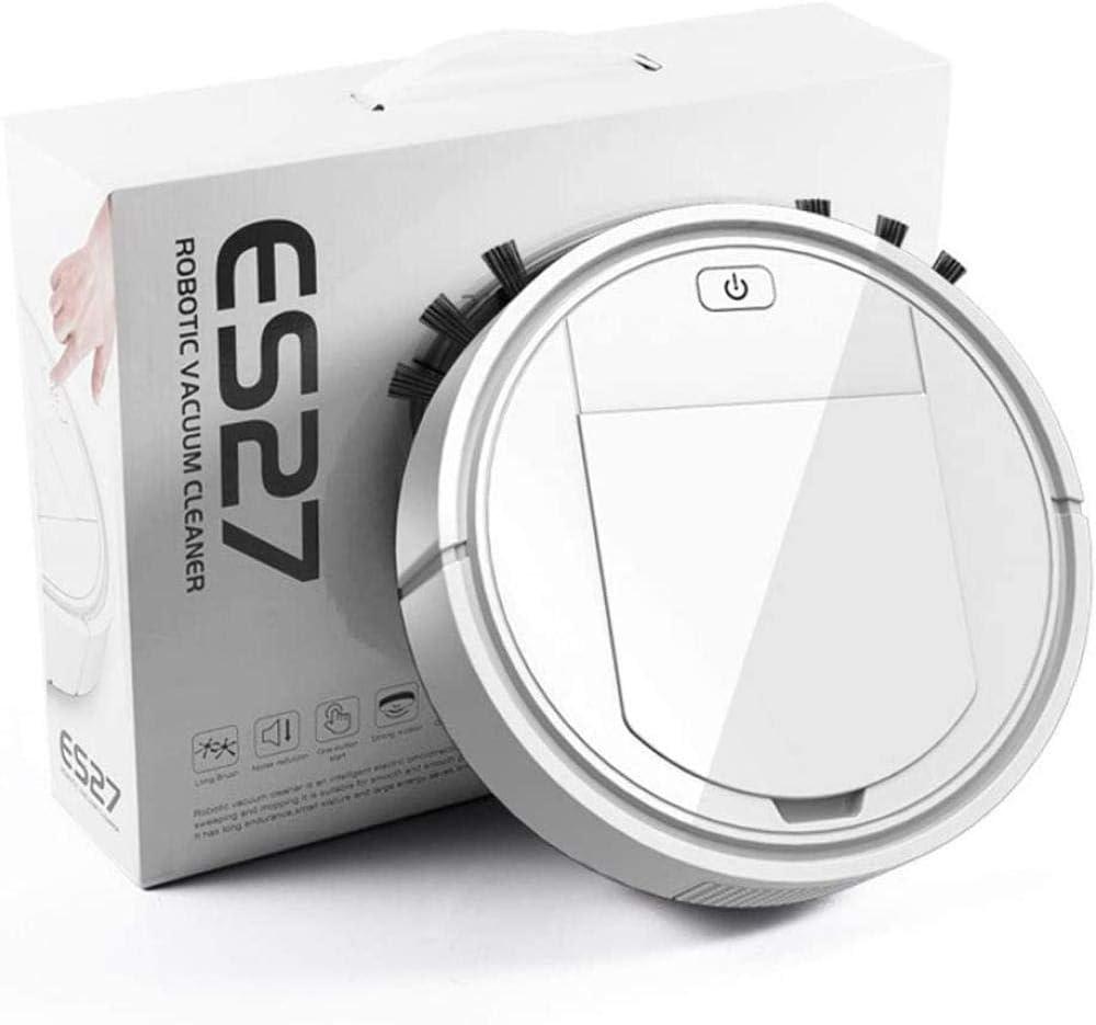 GSWF_OOEFC GENERICS Robot de Balayage chargeant la Machine de Nettoyage Domestique Paresseux aspirateur Intelligent Cadeau d\'appareil ménager-Blanc Blanc