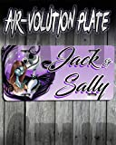Personalized Airbrush Nightmare Before Christmas Jack And Sally License Plate Tag