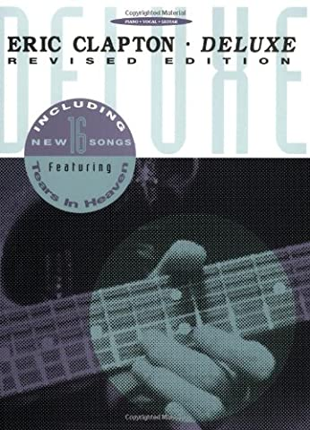 Eric Clapton - Deluxe (Piano/Vocal/Guitar Artist Songbook) - Eric Clapton Songbook