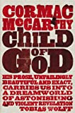 Front cover for the book Child of God by Cormac McCarthy